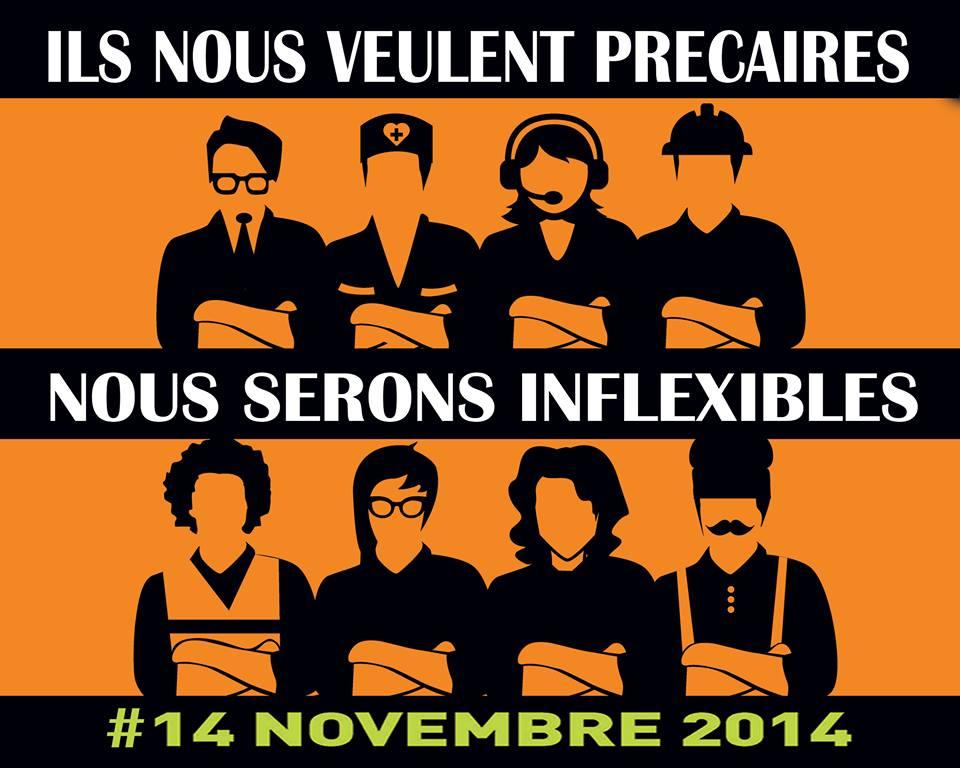 14 NOVEMBRE : Journée d'actions coordonnées européenne pour les droits des chômeurs