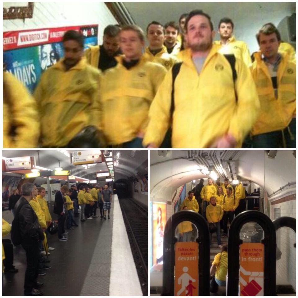 Le Préfet de Paris laisse la racaille identitaire défiler dans le métro parisien