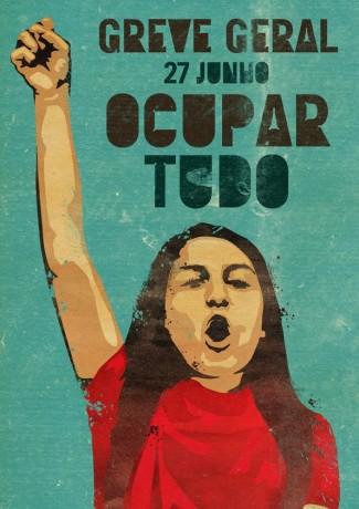 Portugal : La Grève générale du 27 juin 2013