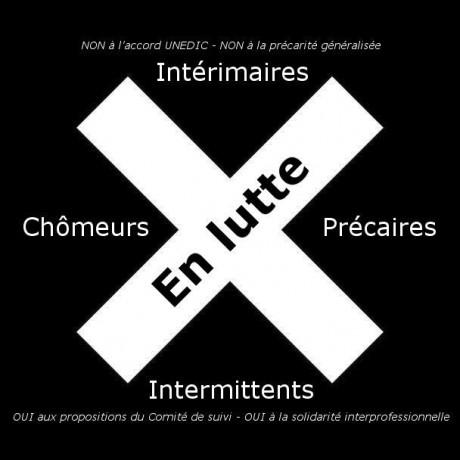 Mardi 3 mars 9h : action nationale des chômeurs, précaires et intermittents à Strasbourg et Mulhouse