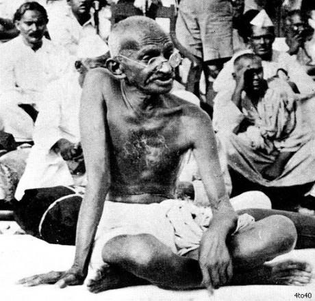 """""""Les Juifs en Palestine"""" par le Mahatma Gandhi"""