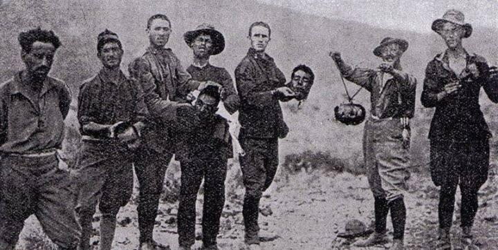 Quand l'Europe chrétienne colonialiste, France et Espagne en tête, donnait des leçons de décapitation et de barbarie aux musulmans