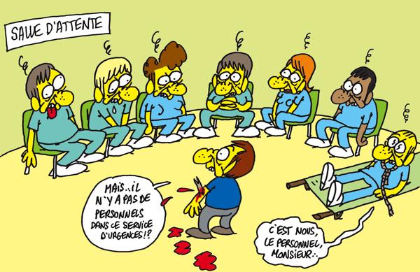Comment fermer un service d'urgences en France