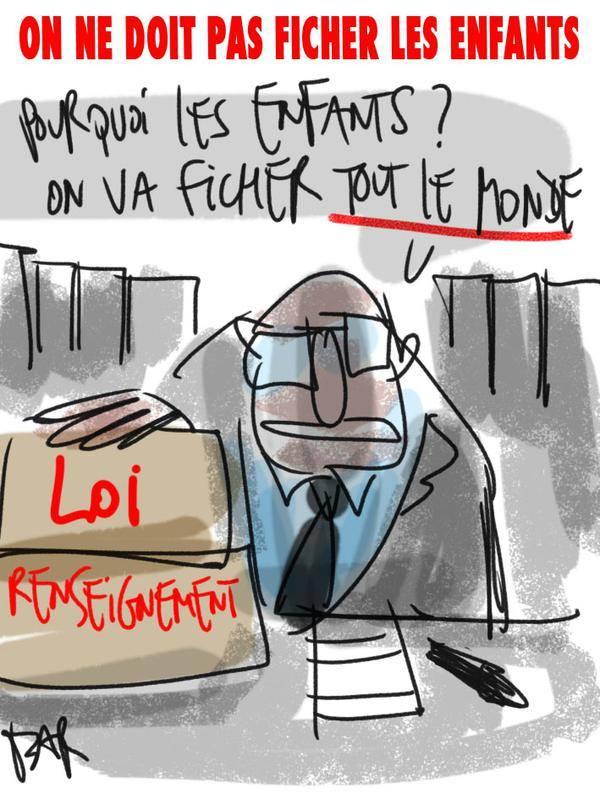 L'Assemblée nationale vote la surveillance de masse des citoyens français !