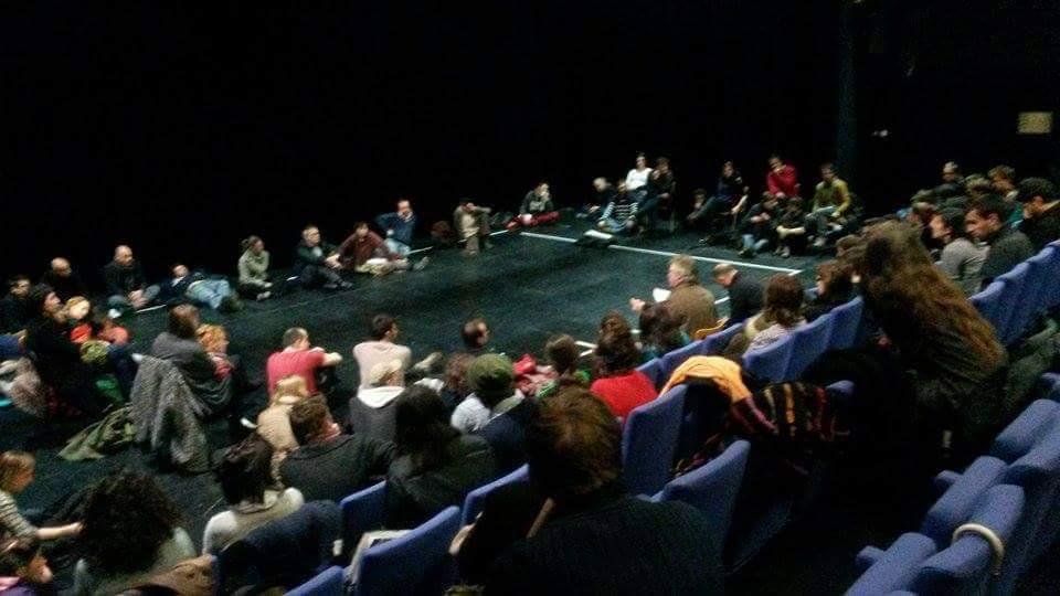 Communiqué d'occupation du Théâtre National de Strasbourg