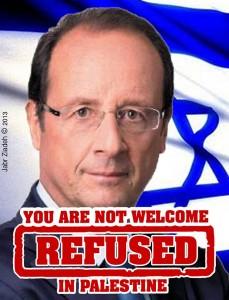 Visite de François Hollande à l'université de Birzeit: Des étudiants palestiniens se mobilisent contre sa venue