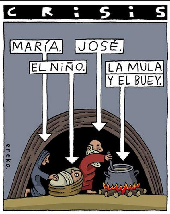 Noël espagnol en temps de crise