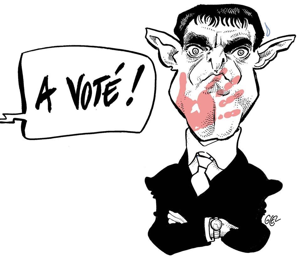 Valls : après la farine en Alsace, la baffe en Bretagne !