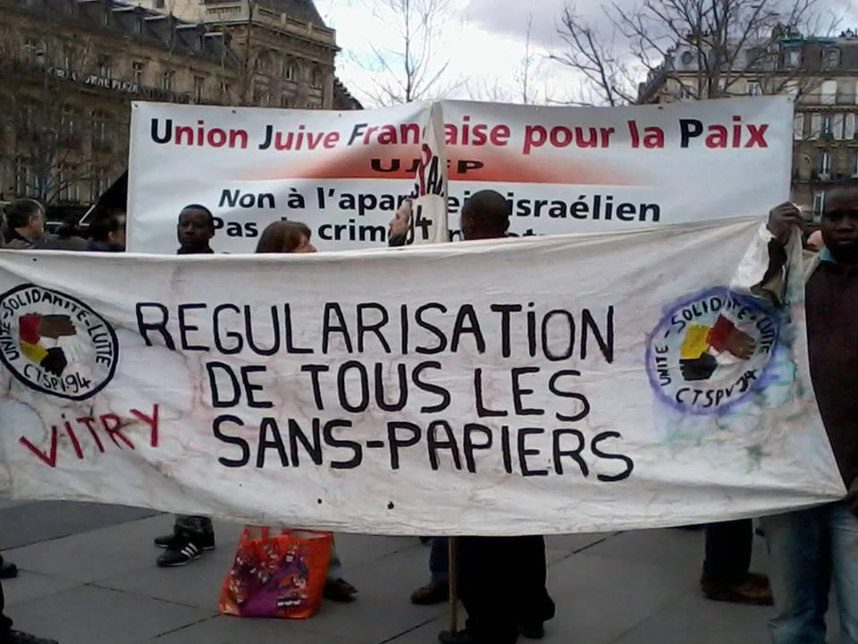 Manifestation anticoloniale et antiraciste / Paris, 01-03-2014