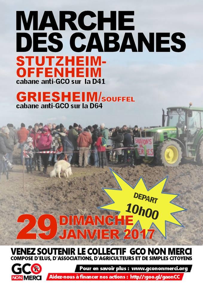 29/01 : 4ème « Marche des cabanes » de Stutzheim-Offenheim à Griesheim-sur-Souffel