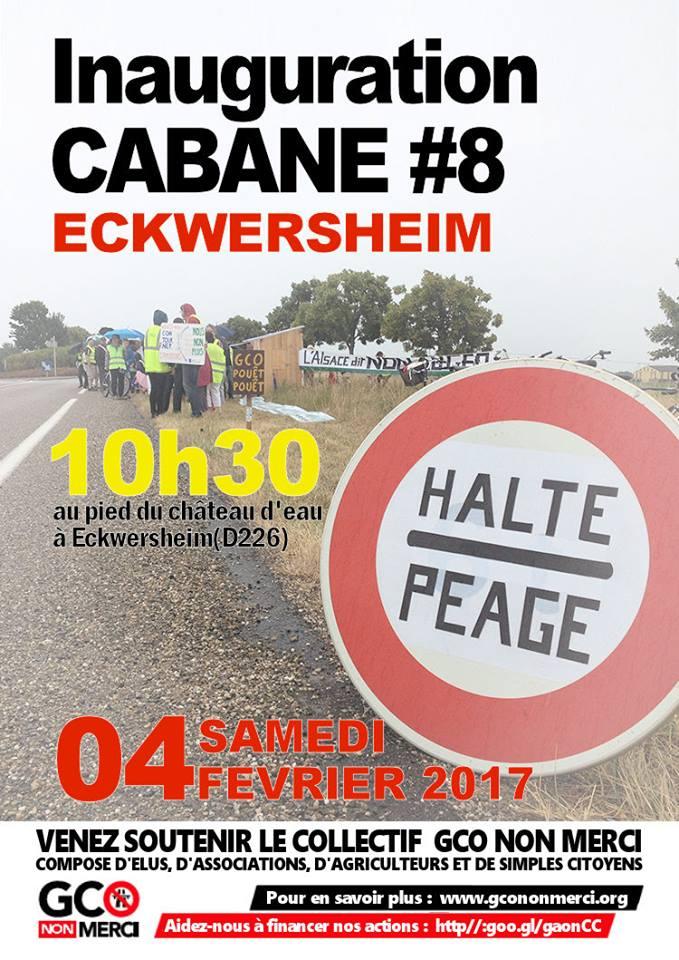 04/02 : Inauguration de la 8ème cabane anti-GCO