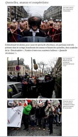Ultras, racistes et xénophobes défilent à Paris