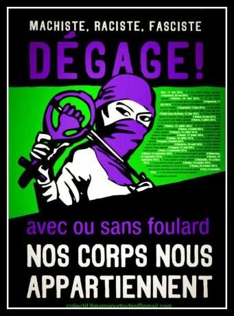 Campagne contre les violences faites aux femmes, version Roissy ? Silence, on tape !