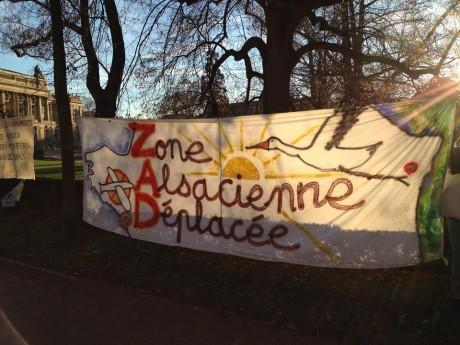 Strasbourg solidaire de la ZAD et des migrants de Calais