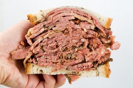 Le sandwich de Sharon