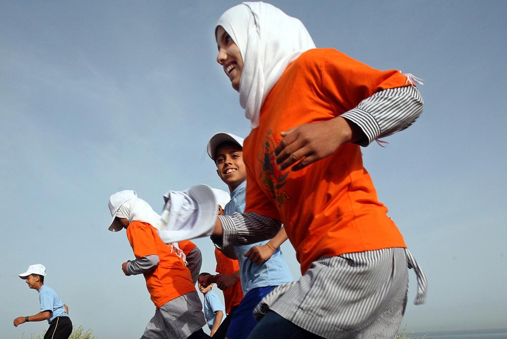 marathon gaza