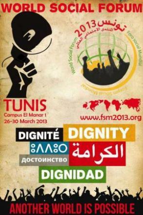Déclaration finale de l'assemblée des mouvements sociaux du Forum Social Mondial 2013 à Tunis