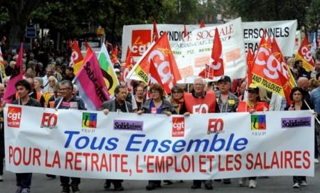 Grève et manifestations le 18 mars