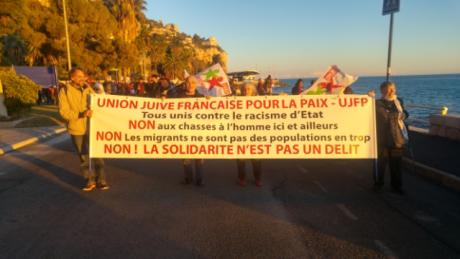 Menton-Garavan: solidarité avec les migrants