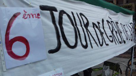 La grève de la faim contre le GCO continue!