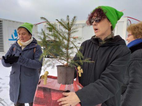 Noël des arbres à Kolbsheim GCO non merci!
