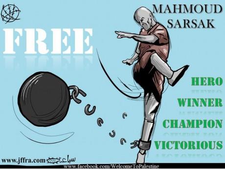 Le footballeur palestinien Mahmoud Al-Sarsak sera libéré le 10 juillet.
