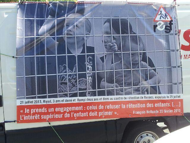 RESF persona non grata à l'université d'été du PS à La Rochelle