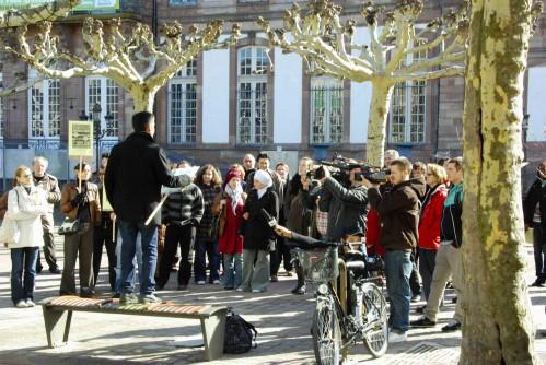 """""""24 heures sans nous"""" à Strasbourg"""