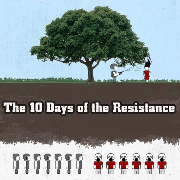10 jours de résistance en Turquie : On vous fait un dessin ?