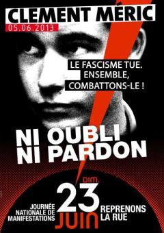 Dimanche 23 juin, 16 h, Place Kléber. Le fascisme tue. Ensemble, combattons-le !