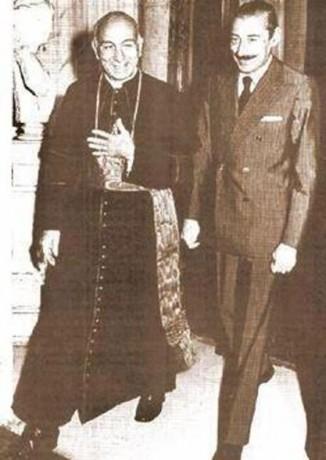 Le pape François vu par Golias