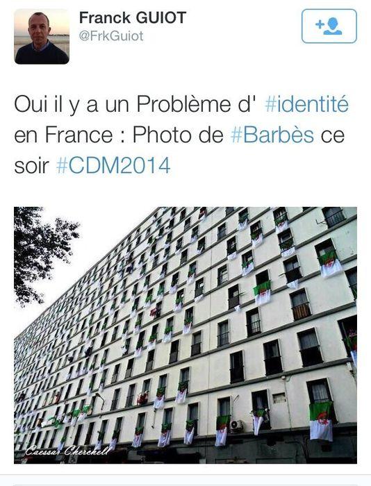 Algérie-Belgique : l'extrême droite fait dans l'intox à Barbès