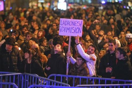 """LIVE – La """"marée citoyenne"""" espagnole submerge le gouvernement Rajoy corrompu"""
