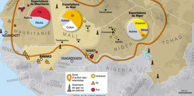 Au Mali, la France sécurise aussi les sous-sols du Sahel