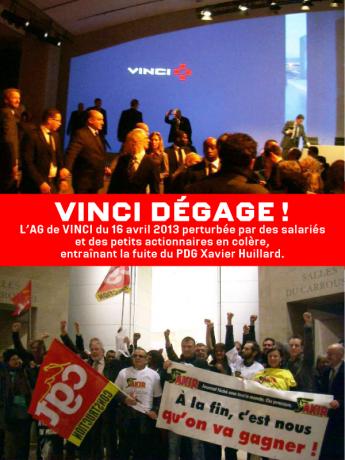L'assemblée générale de Vinci tourne au cauchemar pour le PDG