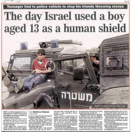 Détention administrative en Israël