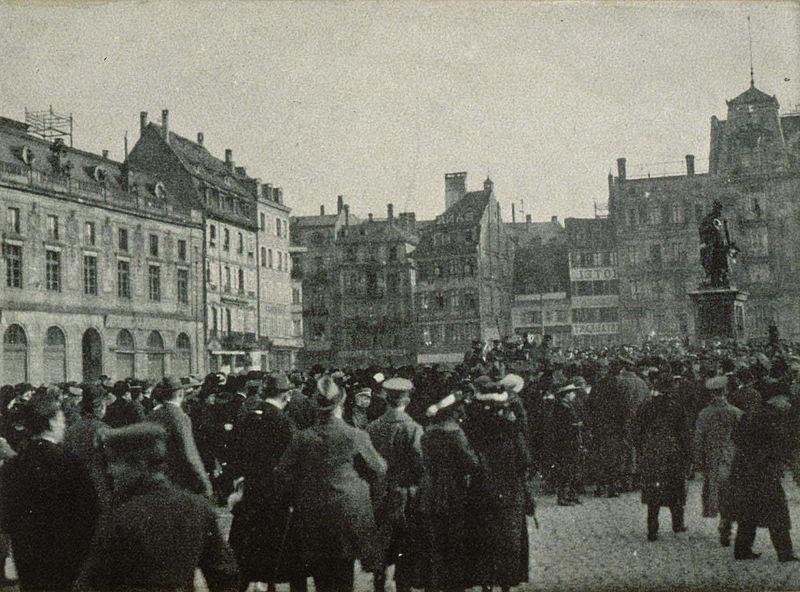 Novembre 1918 – La République Soviétique d'Alsace