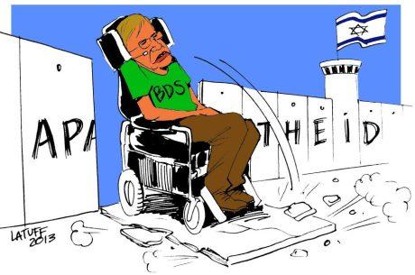 Le dessinateur Latuff traité d'antisémite…