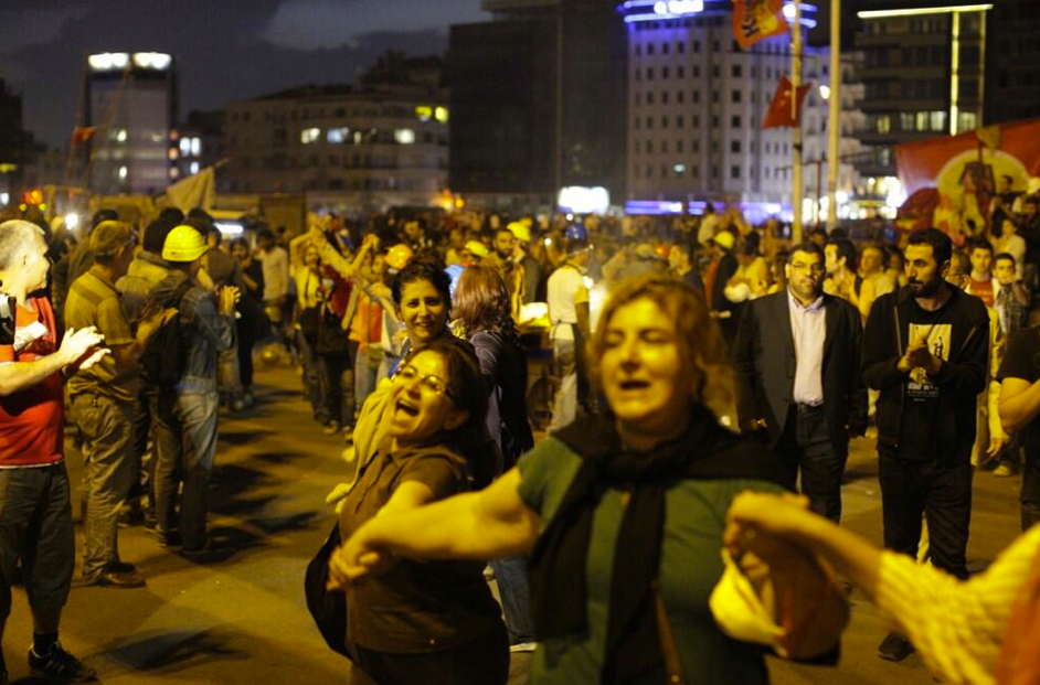 Strasbourg avec Taksim, résistance partout !
