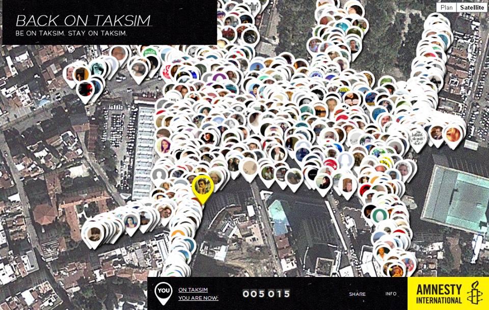 Amnesty International: Des milliers d'internautes protestent virtuellement contre les violences policières en Turquie.