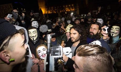 Londres: heurts et violences lors d'une manifestation anticapitaliste