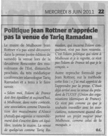 """""""Le très controversé"""" (sic) Tariq Ramadan mouche deux ministres morveux"""
