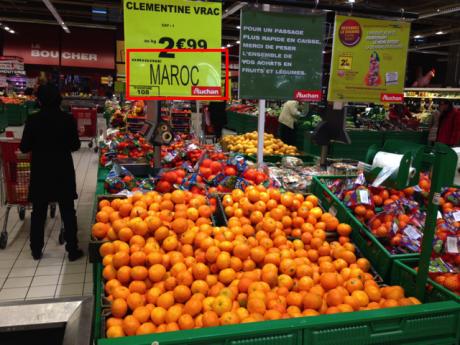 Auchan-Clementine-Mandarine-Maroc-Israel