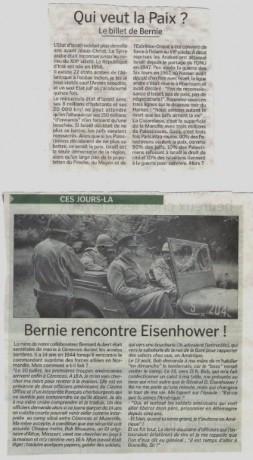 """Gaza vu de """"La Manche Libre"""": Lettre ouverte à """"Bernie"""", Bernard Aubert, éditorialiste."""