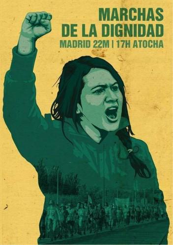 Manifeste des marches de la dignité 22M – Madrid