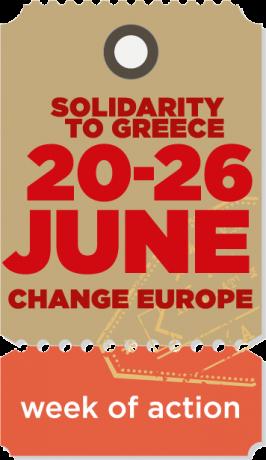 GRÈCE, FRANCE, EUROPE : L'AUSTÉRITÉ TUE, LA DÉMOCRATIE MEURT. RÉSISTONS! MANIFESTATION À PARIS SAMEDI 20 JUIN