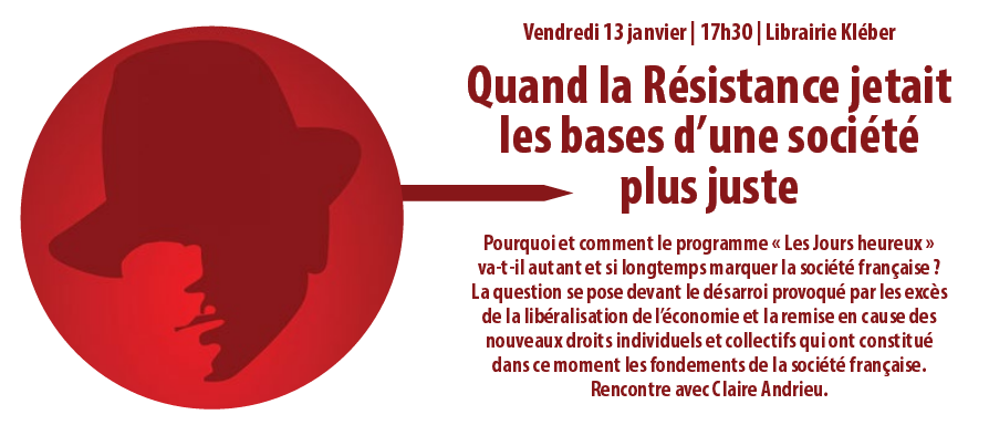 Histoire et actualité du Conseil National de la Résistance