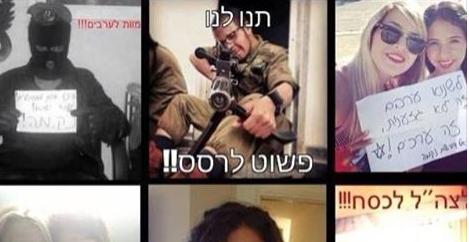Appel au meurtre et haine décomplexée sur le Web israélien et communautariste français
