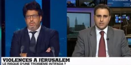 Débat Majed Bamya / Meyer Habib (France 24)