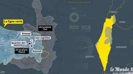 Un demi-siècle de conflit à Jérusalem expliqué en 5 minutes